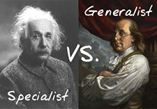 The Modern IT Consultant: Specialist, Generalist or Both?