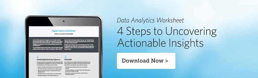Digital Analytics Worksheet